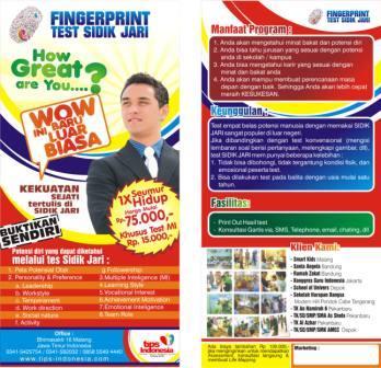 Tes sidik jari (finger print)