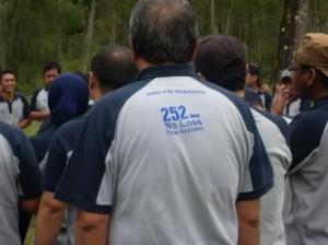 Team Work Training, AQUA Danone Pandaan