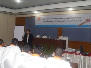 Training Motivasi, Karyawan Koperasi Nusantara