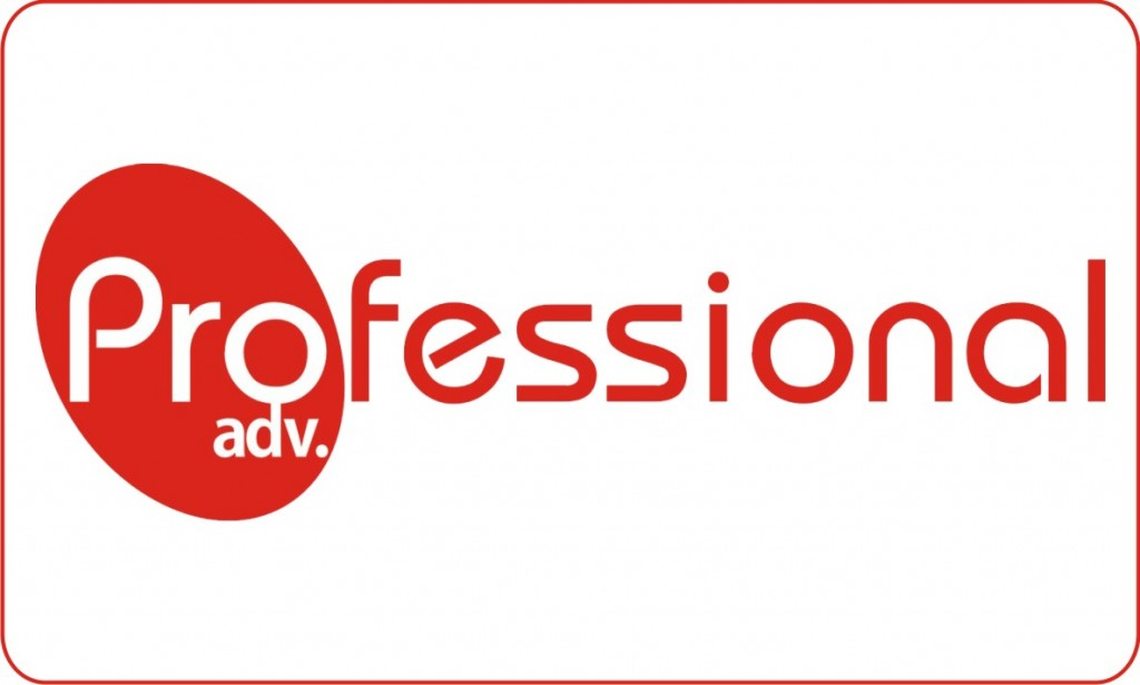 Stiker Professional Advertising