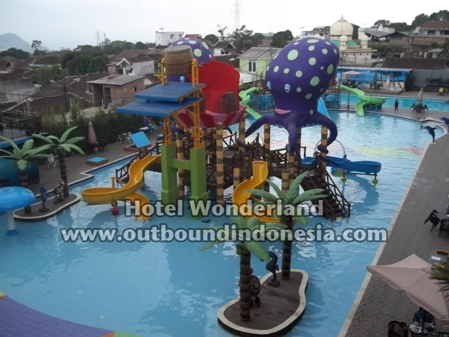 Waterboom-Hotel Wonderland Batu