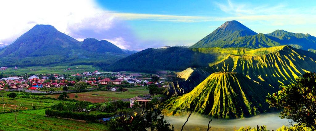 Kota batu Malang Bromo